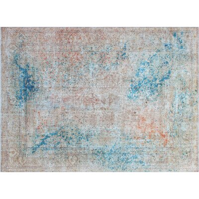One-of-a-Kind Goodwin Hand-Knotted Beige Area Rug