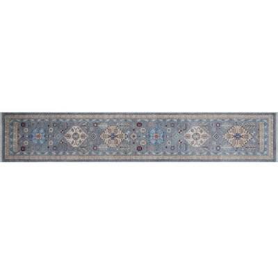 Rosewood Hand-Knotted Gray Wool Area Rug