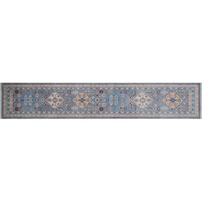 Bridgette Hand-Knotted Gray Area Rug
