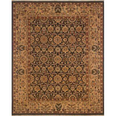 Broadwell Turkish Hand Knotted Wool Beige Area Rug Rug Size: Rectangle 8 x 101