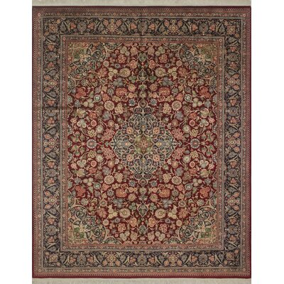 Sattler Hand Knotted Wool Red Area Rug