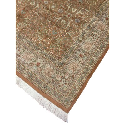 One-of-a-Kind Tanaquil Hand Knotted Wool Light Beige Area Rug