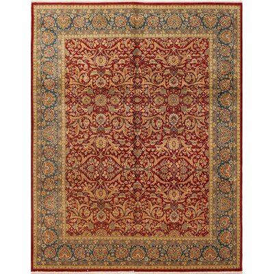 Riverton Turkish Hand Knotted Wool Red Area Rug