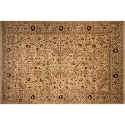 One-of-a-Kind Rubicon Hand Knotted Wool Ivory Area Rug