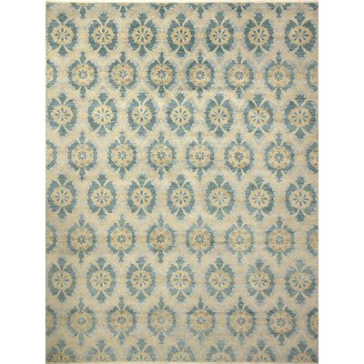 Harkness Transitional Hand-Knotted Wool Gray Area Rug
