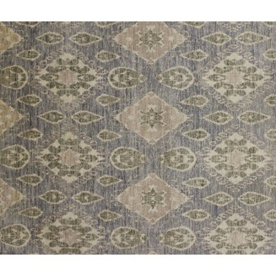 Harkness Hand-Knotted Wool Gray Area Rug