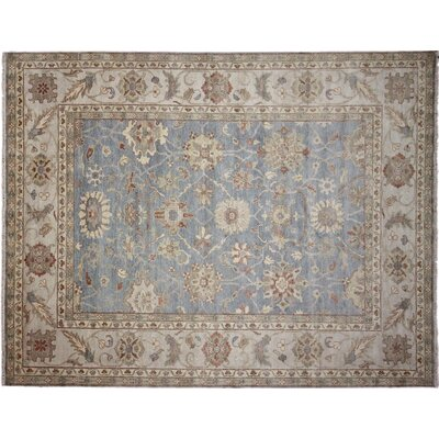 Chancery Hand-Knotted Wool Brown Area Rug