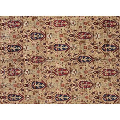 One-of-a-Kind Montague� Hand-Knotted Wool Beige Area Rug