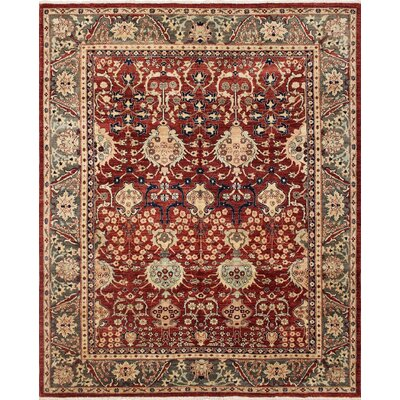 One-of-a-Kind Montague� Hand-Knotted Wool Red Area Rug
