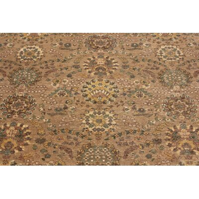 One-of-a-Kind Montague� Hand-Knotted Wool Brown Area Rug