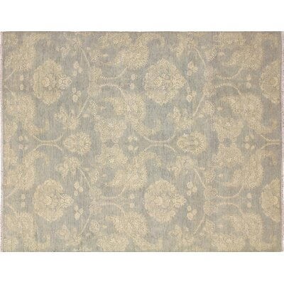 One-of-a-Kind Vintondale Hand-Knotted Wool Gray/Beige Area Rug