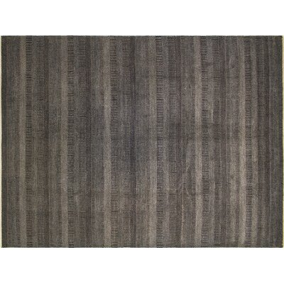 Diego Grass Hand-Knotted Brown Area Rug