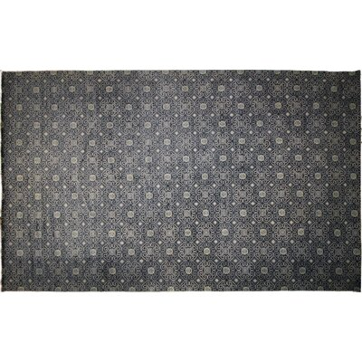 Harkness Hand-Knotted Wool Blue/Gray Area Rug
