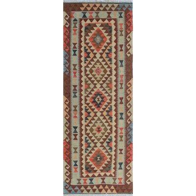 Vallejo Kilim Norina Hand-Woven Wool Beige Area Rug