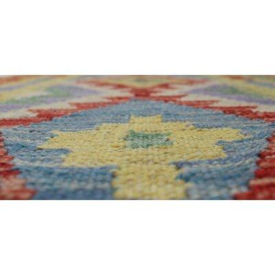 Vallejo Kilim Najiba Hand-Woven Wool Gold Area Rug