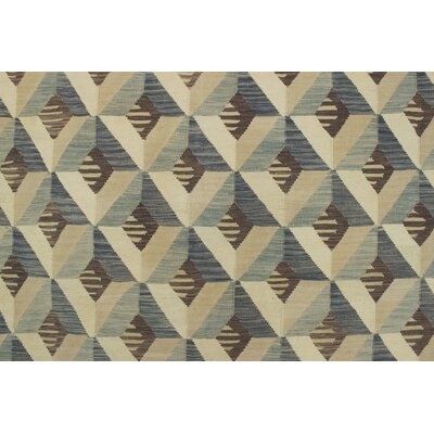 Galen Omira Hand-Woven Wool Ivory Area Rug