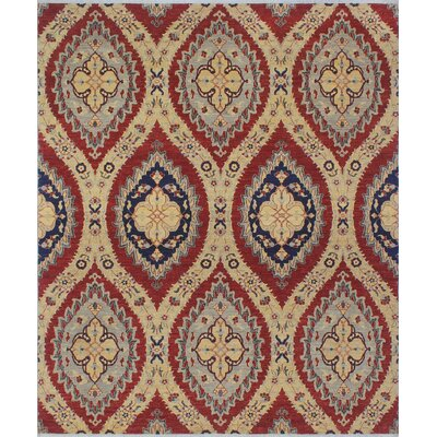 Turner Nargis Hand-Knotted Wool Rust Area Rug