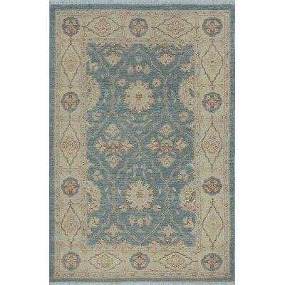 Turner Khoshdel Hand-Knotted Wool Blue/Grey Area Rug