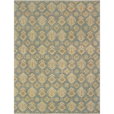Turner Belqis Hand-Knotted Wool Grey Area Rug