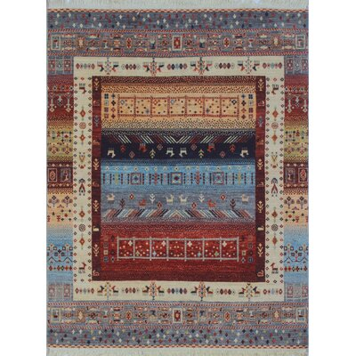 One-of-a-Kind Woodmoor Aarash Hand-Knotted Wool Ivory Area Rug
