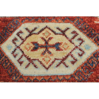 One-of-a-Kind Trevor Habib Hand-Knotted Wool Ivory Area Rug