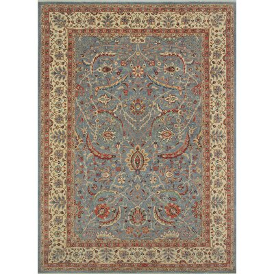 Turner Badan Hand-Knotted Wool Gray Area Rug