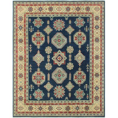 One-of-a-Kind Tomas Hashimel Hand-Knotted Wool Blue Area Rug