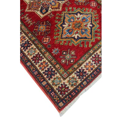 One-of-a-Kind Felder Liluma Hand-Knotted Wool Red Area Rug