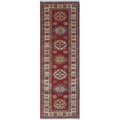 One-of-a-Kind Felder Farzaan Hand-Knotted Wool Red Area Rug
