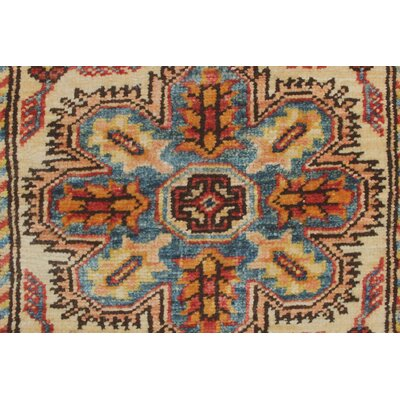 Chanell Sabry Hand-Knotted Wool Red Area Rug