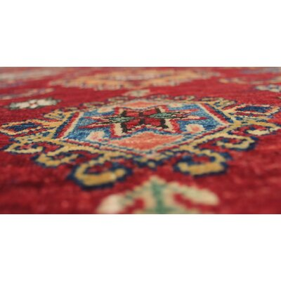 One-of-a-Kind Felder Anisa Hand-Knotted Wool Red Area Rug
