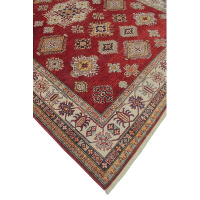 One-of-a-Kind Felder Torpekai Hand-Knotted Wool Red Area Rug