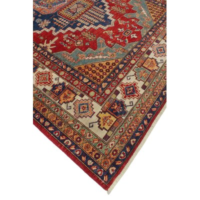 Chanell Mehrde Hand-Knottedl Wool Red Area Rug