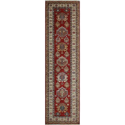 One-of-a-Kind Felder Mujgan Hand-Knotted Wool Red Area Rug