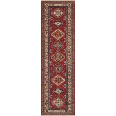 One-of-a-Kind Felder Hessami Hand-Knotted Wool Red Area Rug