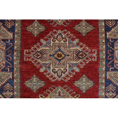 One-of-a-Kind Felder Temur Hand-Knotted Wool Red Area Rug