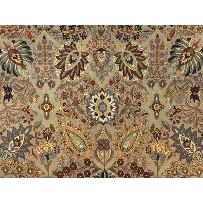 One-of-a-Kind Cleasby Traditional Hand Knotted Wool Beige Area Rug