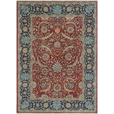 Woodmoor Chobi Hand Knotted Wool Rust Area Rug