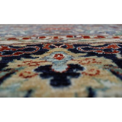 Woodmoor Chobi Hand Knotted Wool Gray Area Rug