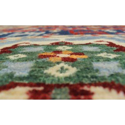 Woodmoor Chobi Hand Knotted Premium Wool Blue Area Rug