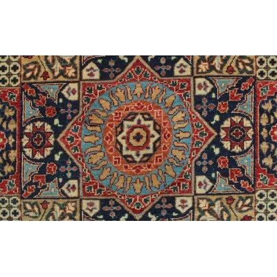 Woodmoor Chobi Hand Knotted Premium Wool Blue Oriental Area Rug