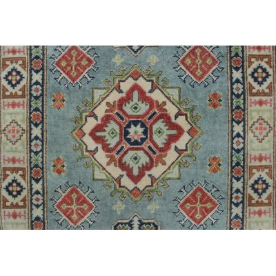 Elizabet Kazak Hand Knotted Wool Gray Area Rug