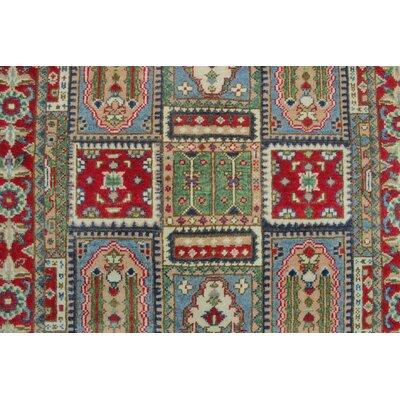 Bryonwood Kazak Hand Knotted Wool Ivory Area Rug