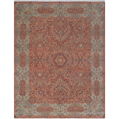 Blanca Hand Knotted Wool Rust Area Rug