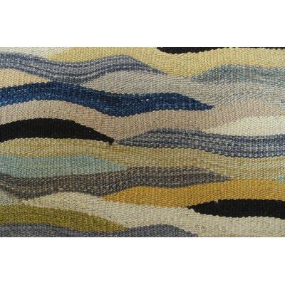 Troy Kilim Hand Woven Wool Beige Area Rug