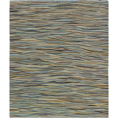 Troy Kilim Hand Woven Wool Ivory Area Rug