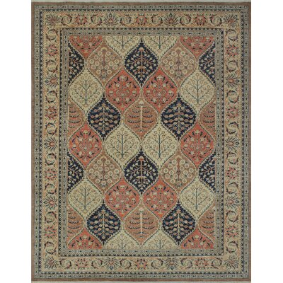 Turner Chobi Knotted Wool Brown Area Rug