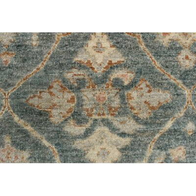 Turner Chobi Knotted Wool Gray Area Rug