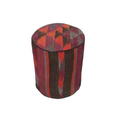 Ferranti Ottoman Upholstery: Purple/Blue, Size: 17 H x 15 W x 15 D