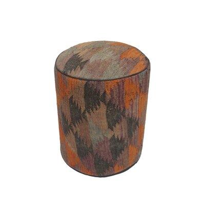 Ferranti Ottoman Upholstery: Purple/Yellow, Size: 17 H x 15 W x 15 D